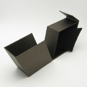 Trapezoidal Pillow Box - Open