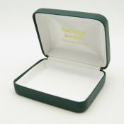 #1B Green Vienna Leather Utuility Box